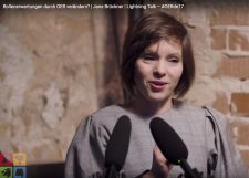Jane Brückner, Screenshot aus dem Video .
