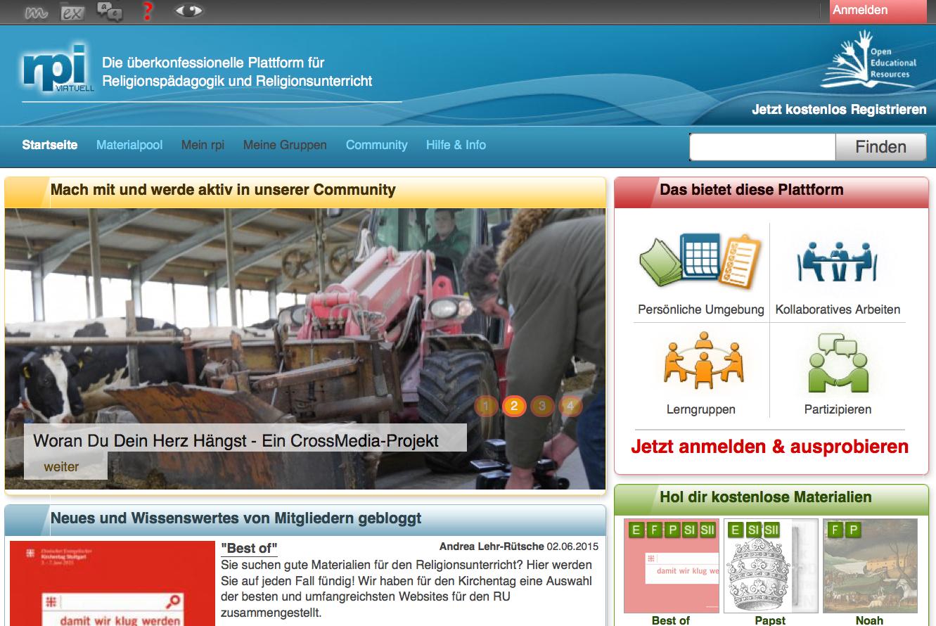 Screenshot von rpi-virtuell.net (nicht unter freier Lizenz)