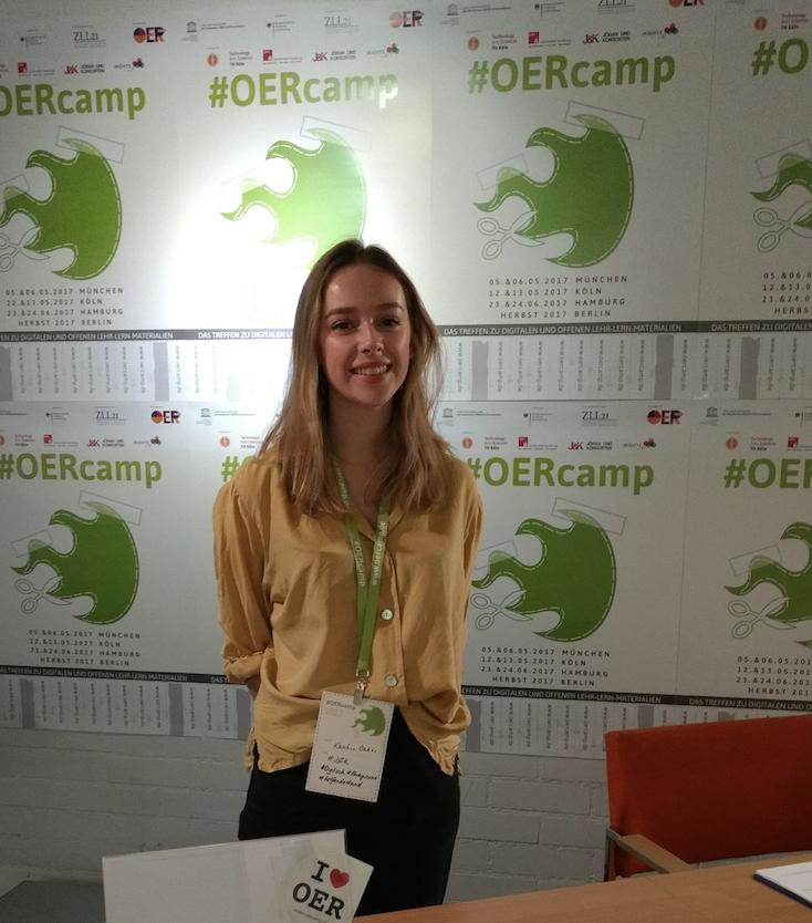Beim OERcamp, Foto: Alexandra Hessler, CC BY 4.0