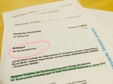 Bundesregierung beantwortet Kleine Anfrage zu OER 2015