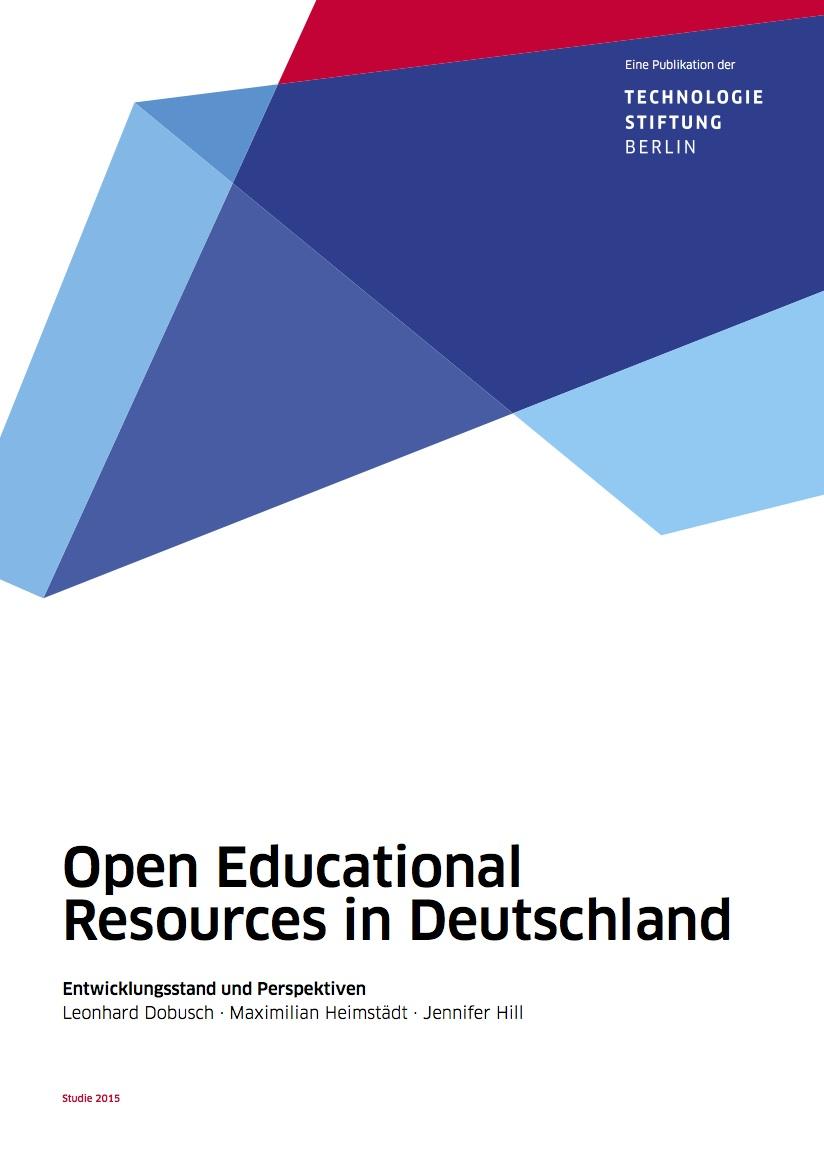 Studie Zu Open Educational Resources In Deutschland