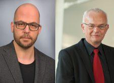 Dr. Markus Deimann, FernUniversität in Hagen und Dr. Burkhard Lehmann, Universität Koblenz-Landau, Fotos privat