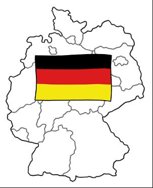 Bild von Deutschlandkarte
