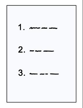 Bild von Liste