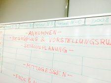 Sessionplanung beim #ecBER15 (EduCamp und OERcamp in Berlin)