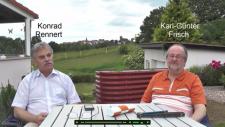 Konrad Renner und Karl-Guenter Frisch, Screenshot aus dem Spendenaufruf