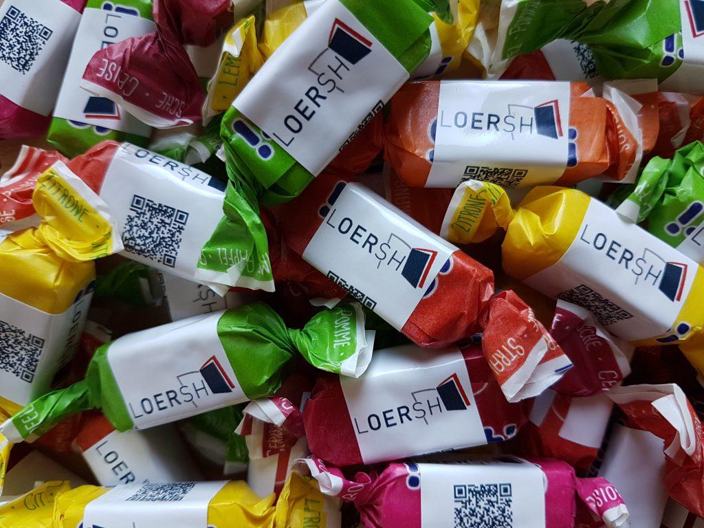 LOERSH-Bonbons. Foto von Claudia Kuttner, CC0