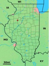 Location of Williamsfield within Illinois