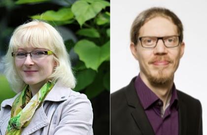 Magdalena Spaude und Jan Koschorreck
