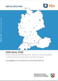 Cover des OER Atlas 2016
