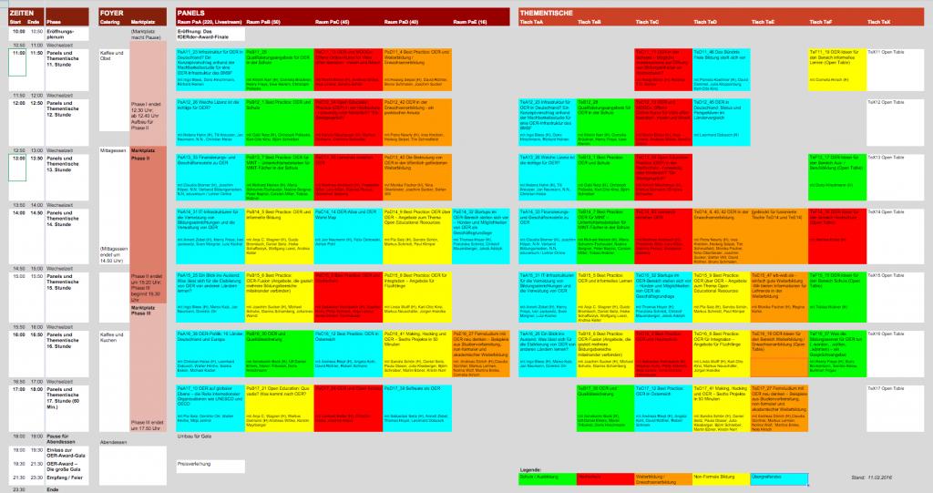 OER-Fachforum-2016 - Programmvorschau