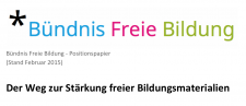 Positionspapier zu OER –Download als pdf