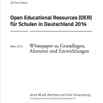 Whitepaper OER Schule (Cover)