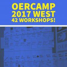 OERcamp West: Das Workshop Programm ist da!