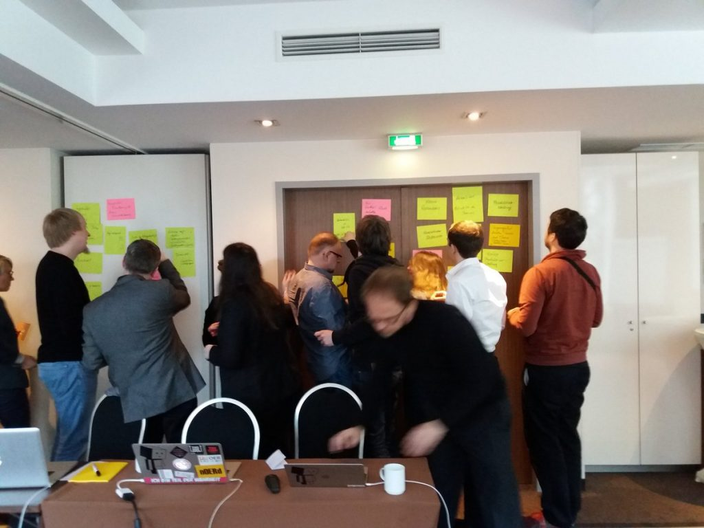 OERcamp-Vorbereitung – Foto: Gabi Fahrenkrog / OERinfo unter CC BY 4.0