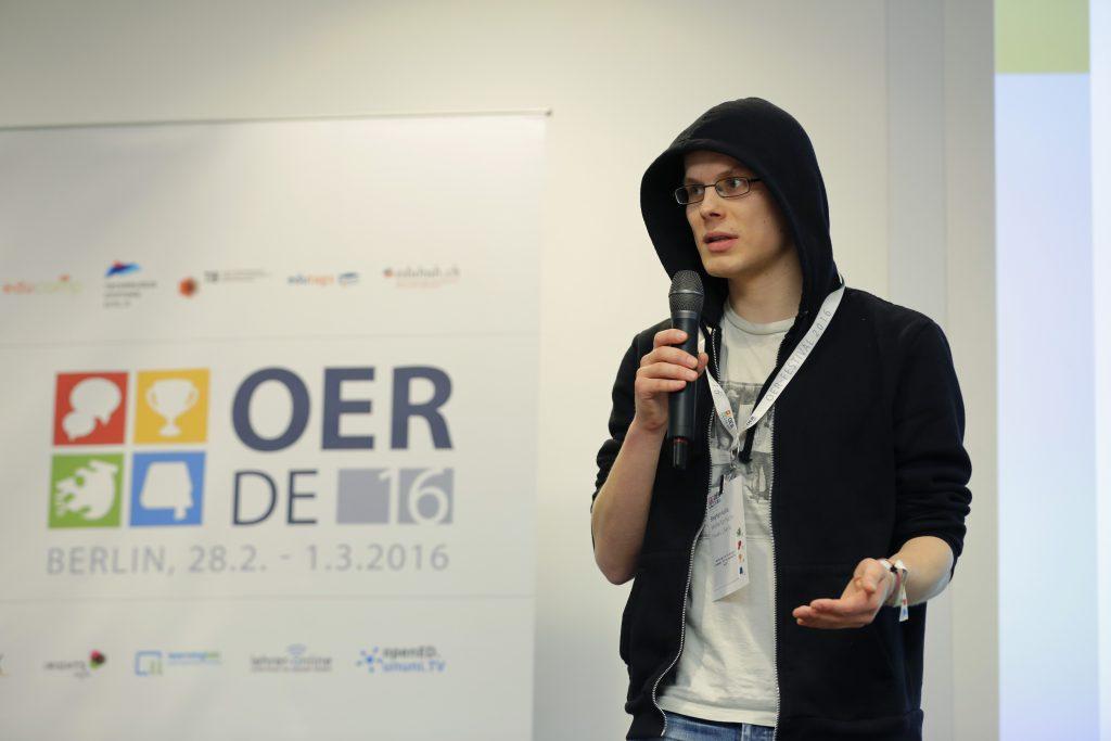 Finale beim fOERder-Award: Sieben Projekte mit neuen OER-Ideen stellen sich vor.
