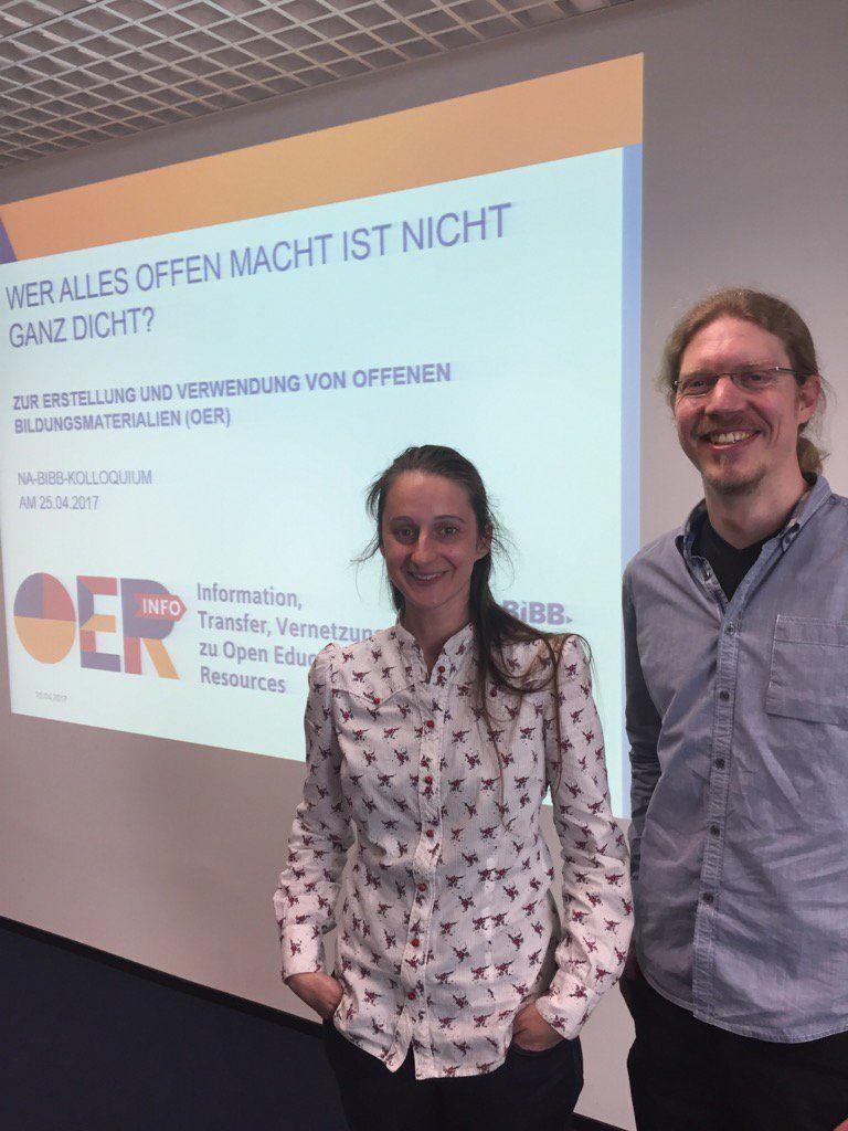 Susanne Grimm (li.) und Jan Koschorreck (re.), Foto von Bodo Rödel, nicht unter freier Lizenz