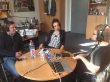 Open Educational Ideas – Prof. Dr. Jan Pawlowski, Anne-ChristinTannhäuser und Jöran Muuß-Merholz, Foto von Safa'a Abujarour unter CC BY 4.0.