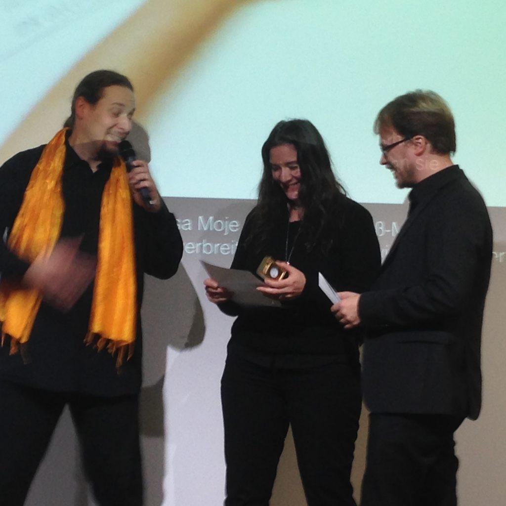 Preisverleihung an Blanche Fabri und Jöran Muuß-Merholz