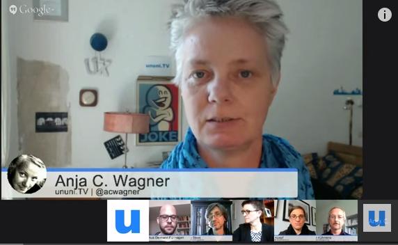 Webtalk von uniuni.TV, Screenshot nicht unter freier Lizenz.