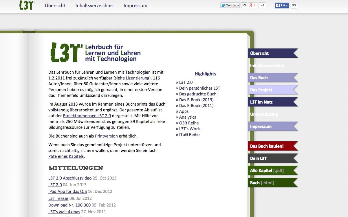 Screenshot von l3t.eu (nicht unter freier Lizenz)