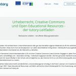 Screenshot tutory.de, nicht unter einer freien Lizenz.