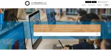 Screenshot Portal Open Education Europa, nicht unter einer freien Lizenz