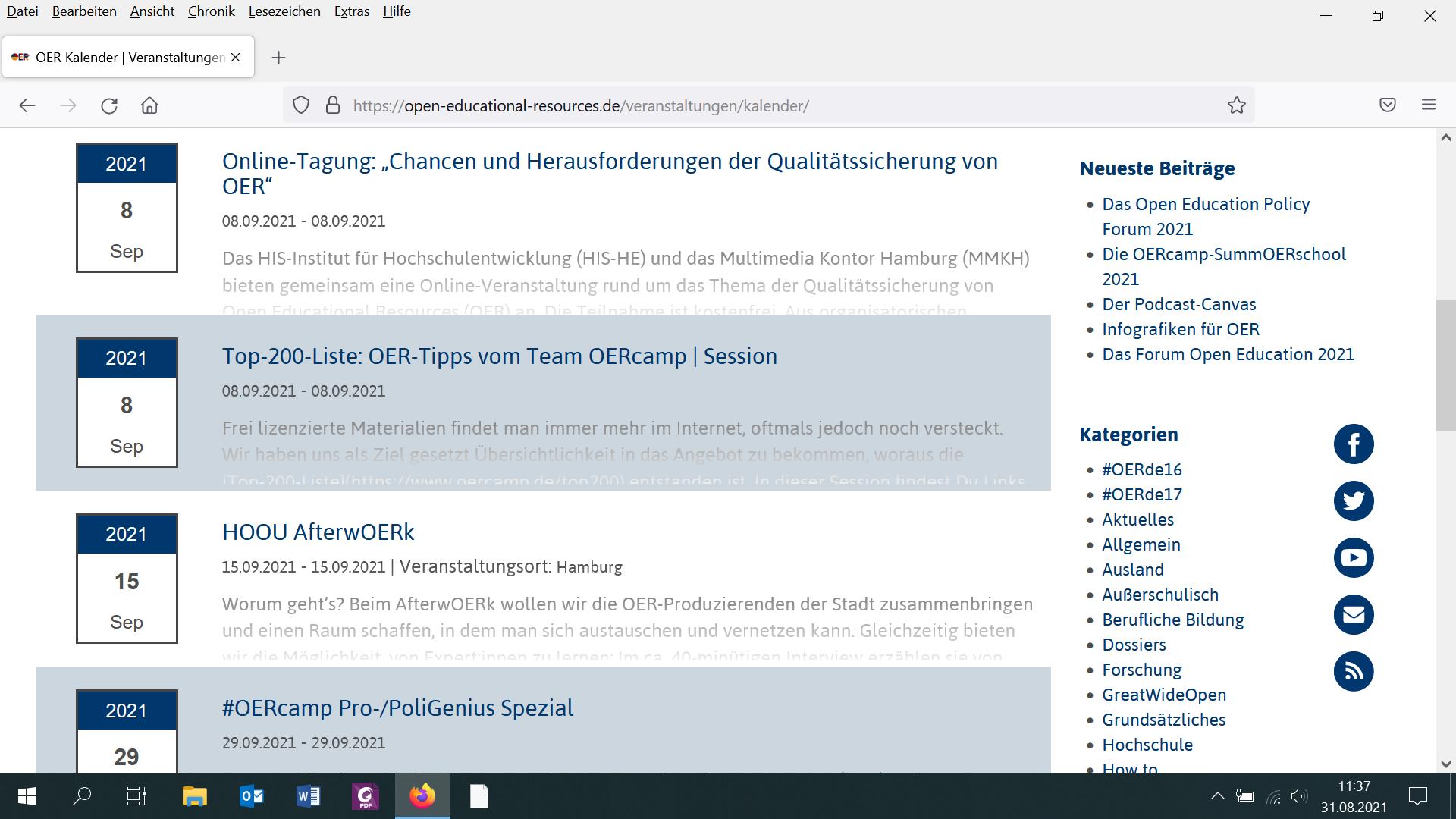 Screenshot_OER-Kalender_nicht unter freier Lizenz