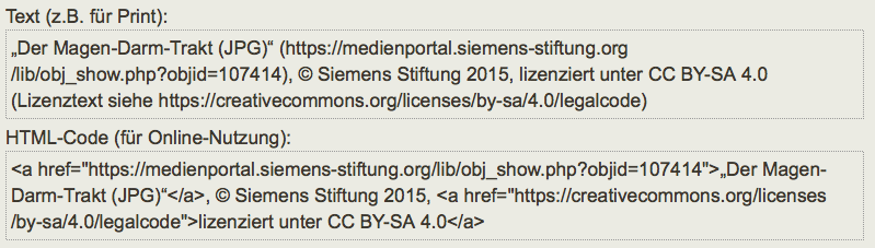 Siemens Stiftung – Vorlage für OER-Referenzierung