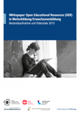 Whitepaper OER Weiterbildung (Cover)