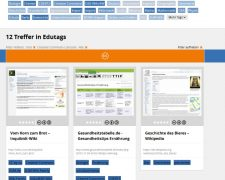 Screenshot von edutags.de