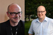 Till Kreutzer (links, Foto von Jana Pofalla) und Prof. Dr. Leonhard Dobusch (rechts, Foto von Dominik Landwehr unter CC BY 4.0)