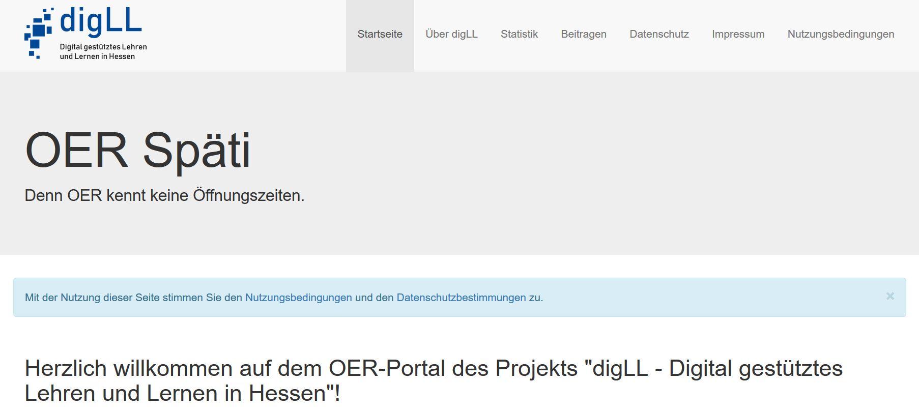 OER-Späti, Screenshot, nicht unter freier Lizenz
