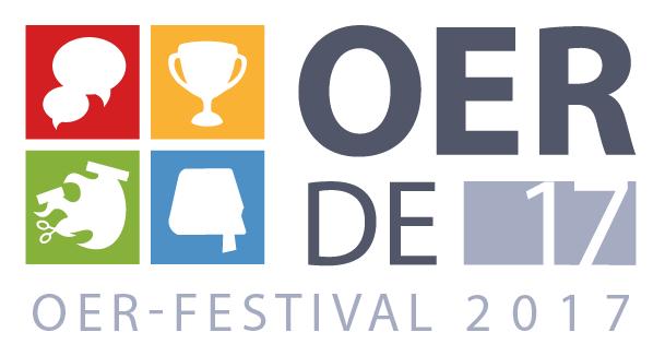 Logo zum OER-Festival 2017 #OERde17