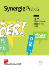 Abbildung Cover des Synergie Praxis Magazins Open Educational resources 2017