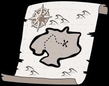 Bild: Treasure Map von OpenClips unter CC0 via pixabay