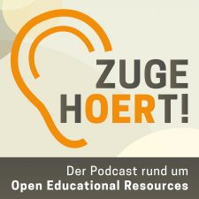 Logo zugehOERt! Der Podcast rund um Open Educational Resources